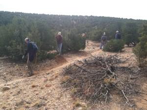 La Tierra Trails Work Day @ Paseo del Antilope & Paseo de Coyote